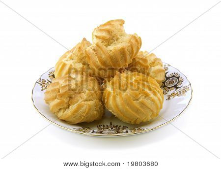 Cookies On A Small Plate