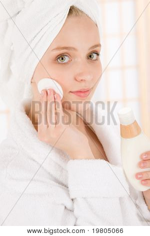 Acne Facial Care Teenager Woman Clean Skin