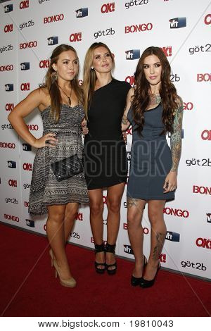 LOS ANGELES - APR 14:  Samantha Patridge, (L) Audrina Patridge (C) and Casey Patridge arrive at the OK magazine 'Sexy Singles Party'  at The Lexington Social House on April 14, 2011 in Los Angeles, CA.