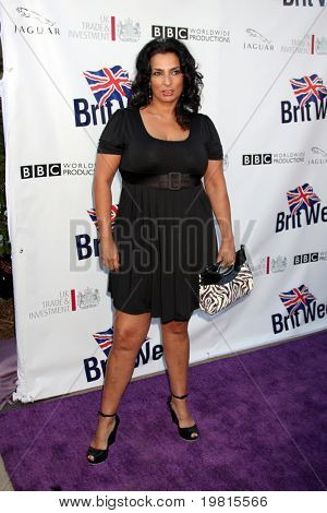 LOS ANGELES - APR 26:  Alice Amter arriving at the 5th Annual BritWeek Launch Party at British Consul General's residence on April 26, 2011 in Los Angeles, CA..