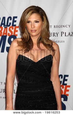 LOS ANGELES - APR 29:  Daisy Fuentes arriving at the 18th Race to Erase MS Event at Century Plaza Hotel on April 29, 2011 in Century City, CA..