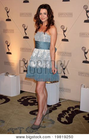 LOS ANGELES - MAY 5:  Caterina Scorsone arriving at the 4th Annual Television Academy Honors  at Beverly Hills Hotel on May 5, 2011 in Beverly Hills, CA