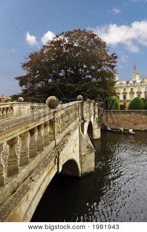 Clare Bridge, Over The River Cam