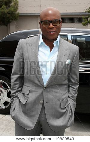 "LOS ANGELES - MAY 8:  LA Reid, one of the talent judges,  arriving at the ""X-Factor Auditions"" at Galen Center on May 8, 2011 in Los Angeles, CA"