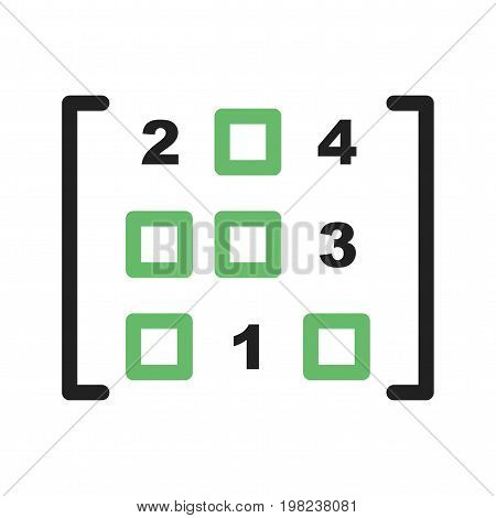 Formula Algebra Maths Icon Vector Image Can Also Be Used For Math