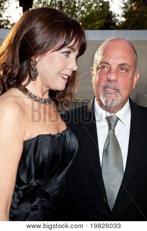 NEW YORK - SEPTEMBER 21: Deborah Dampiere and Billy Joel attends the Metropolitan Opera 2009-10 season opening on September 21, 2009 in New York City.