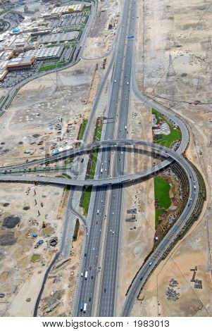 Fifth Interchange On Sheikh Zayed Road