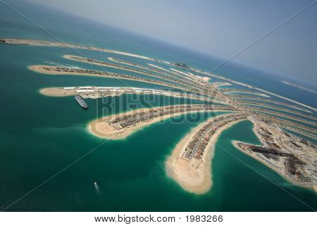 Palm Island In The Emirates