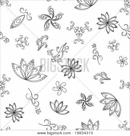 Abstract background, contours