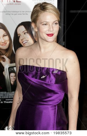 HOLLYWOOD, CA. - NOVEMBER 3: Drew Barrymore attends the AFI Fest premier of Everybody's Fine on November 3, 2009 at The  Grauman's Chinese Theater in Hollywood.