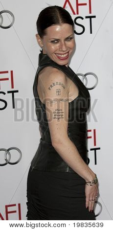 HOLLYWOOD, CA. - NOVEMBER 4: Fairuza Balk attends the AFI Fest screening of Bad Lieutenant: Port of Call New Orleans at The Grauman's Chinese Theater on November 4, 2009 in Hollywood.