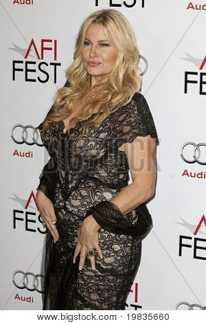 HOLLYWOOD, CA. - NOVEMBER 4: Jennifer Coolidge attends the AFI Fest screening of Bad Lieutenant: Port of Call New Orleans at The Grauman's Chinese Theater on November 4, 2009 in Hollywood.