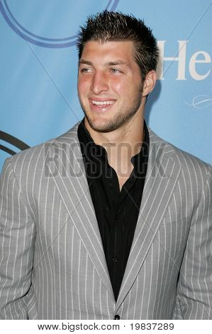 HOLLYWOOD, CA. - JULY 13: Denver Broncos Quarterback Tim Tebow attends Fat Tuesday at The ESPYs on July 13th, 2010 in Hollywood, Ca.