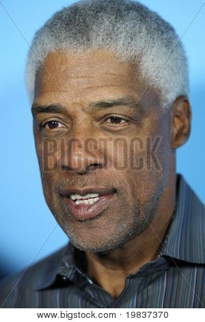 HOLLYWOOD, CA. - JULY 13: NBA legend Julius (Dr. J) Erving attends Fat Tuesday at The ESPYs on July 13, 2010 in Hollywood, Ca.