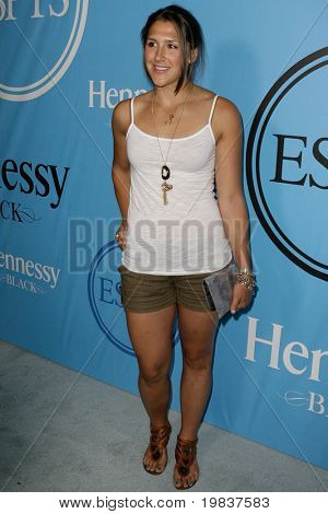 HOLLYWOOD, CA. - JULY 13: X-Games Gold Medalist Jen Hdvak attends Fat Tuesday at The ESPYs on July 13, 2010 in Hollywood, Ca.