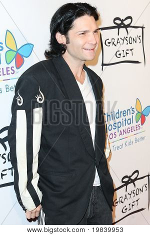 SANTA MONICA, CA. - NOVEMBER 11:  Corey Feldman attends Children's Hospital Los Angeles Grayson's Gift  Foundation Fundraiser on November 11 2010 at Casa del Mar hotel in Santa Monica, Ca.