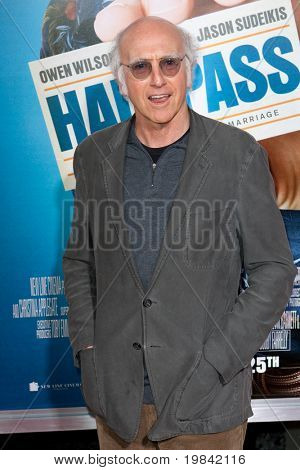 HOLLYWOOD, CA. - FEB 23: Larry David arrives at the Cinerama Dome for the world premiere of Hall Pass on Feb 23, 2011 in Hollywood, CA.