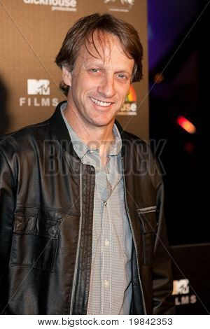 LOS ANGELES, CA. - MARCH 7: Tony Hawk arrives at Paramount Studios to celebrate the release of the Jackass 3 Blu-ray and DVD debut on March 7th 2011 in Los Angeles.
