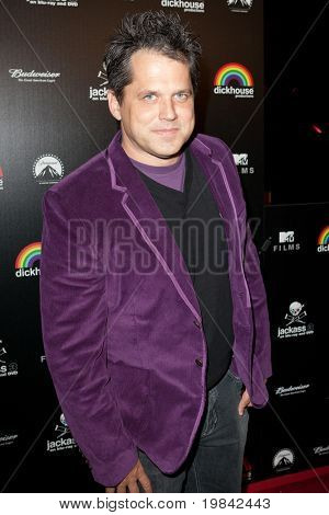 LOS ANGELES, CA. - MARCH 7: Jeff Tremaine arrives at Paramount Studios to celebrate the release of the Jackass 3 Blu-ray and DVD debut on March 7th 2011 in Los Angeles.