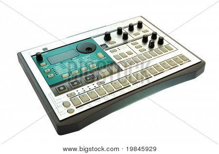 Rhythm production sampler