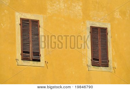 Typical italian facade