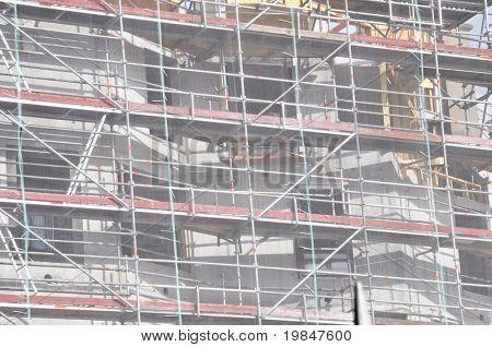 A scaffold