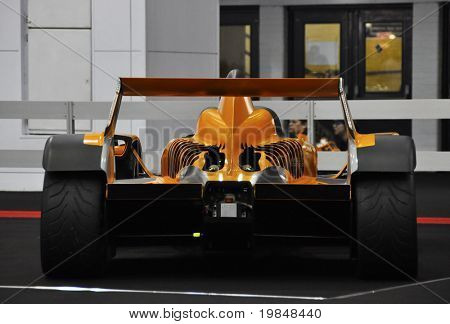 LONDON, UK - NOVEMBER 7: A Caparo T1 at the MPH motorshow, November 7, 2010 in London, United Kingdom