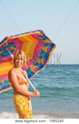 Woman With Sunshade