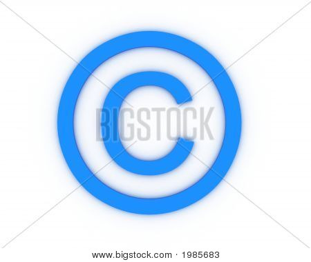 Sign Of Copyright