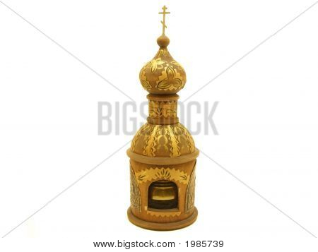 Isolated Wooden Chirch