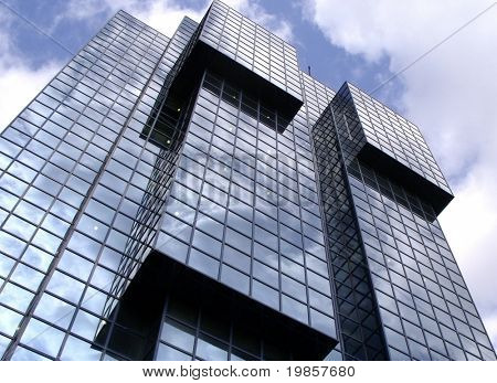 Glass headquarters.