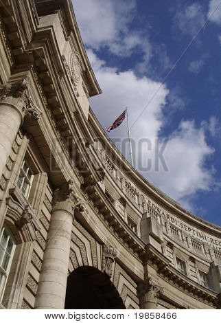 Admiralty arch, london, england.