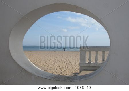 Window To The Beach