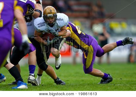 European Football League - Vienna Vikings playing against the Bergamo Lions - May 2008