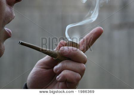 Smoking Pipe.