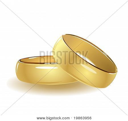 Simple Wedding Rings