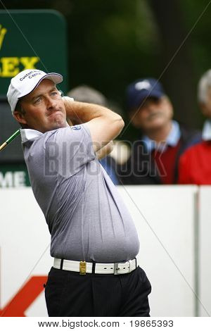 Damien McGrane competes at the PGA European Tour BMW Open Golf Munich Germany 19 - 22 June 2008 at the Golf Club Munchen Eichenried