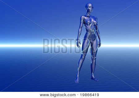 Futuristic Female
