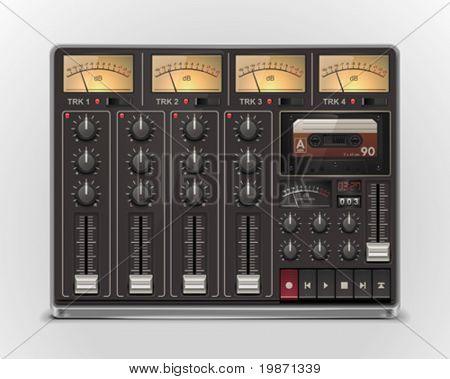 Icono de Vector grabación portátil studio XXL
