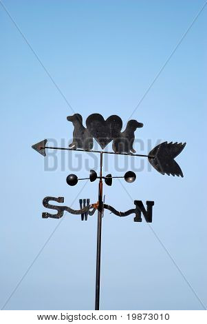 Weathervane And Anemometer