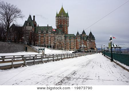 Quebec In Winter