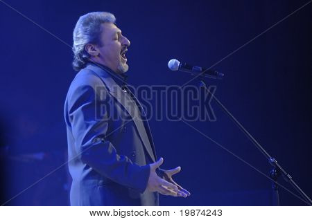 YEREVAN - NOVEMBER 11: Barsegh Tumanyan during Jivan Gasparyan's 80years celebration evening. November 11, 2008, in Yerevan, Armenia