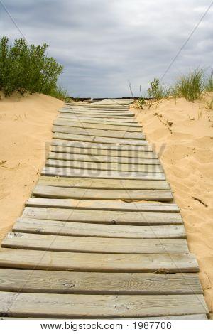 Boardwalk In The Sand
