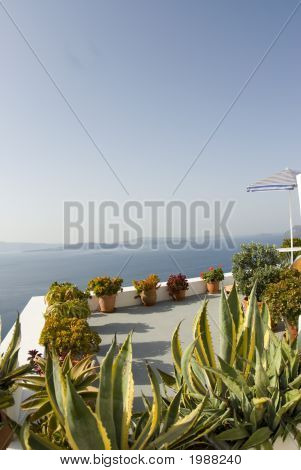 Greek Island View