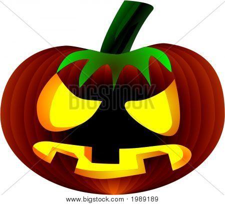 Halloween Jack'O'Lantern.Eps