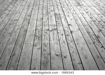 Knotty Wooden Floor