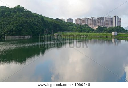 Reservoir In Hong Kong