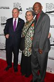 NEW YORK - DECEMBER 06: (L-R) Mayor Michael Bloomberg,  Marian Wright Edelman and Geoffrey Canada at