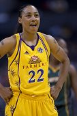 LOS ANGELES, CA. - SEPTEMBER 16: Betty Lennox during the WNBA playoff game of the Sparks vs. Storm o