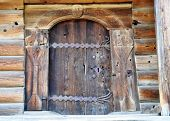 pic of arriere-plan  - Old wood door - JPG